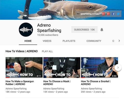 Adreno Spearfishing YouTube Channel