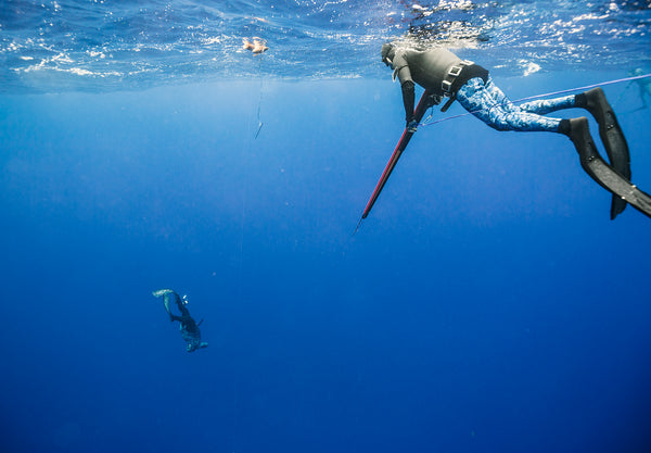 Tim Neilsen and Rowan Virbickas - 'Eua Spearfishing