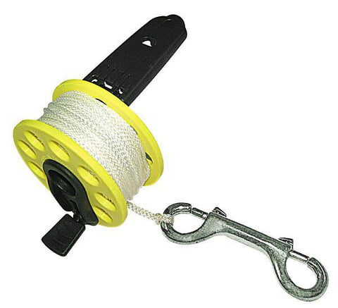 Problue Reel w/50m Line with Folding Handle & Brass Clip