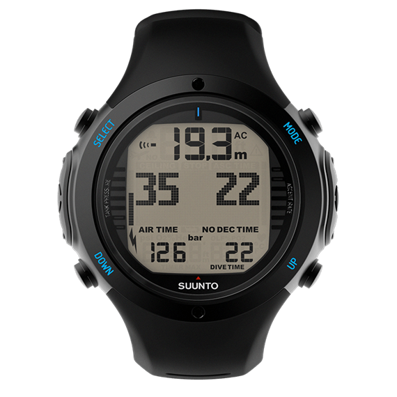 Suunto D6i Novo Air-Integrated wrist computer