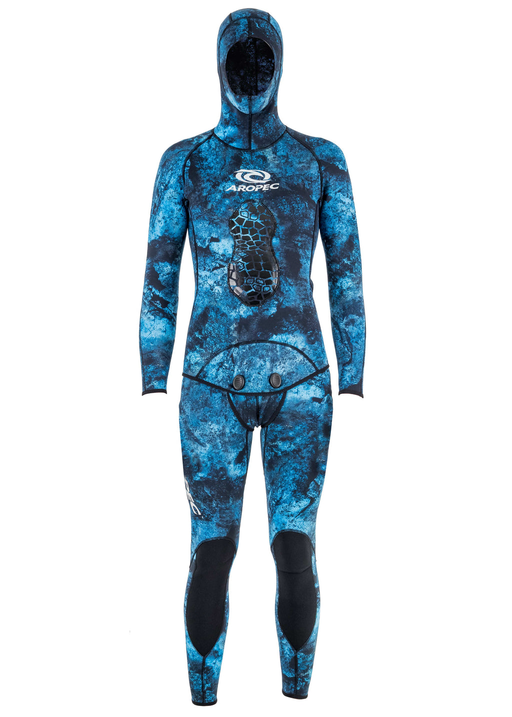 Aropec Camo 2mm 2 Piece Spearfishing Suit