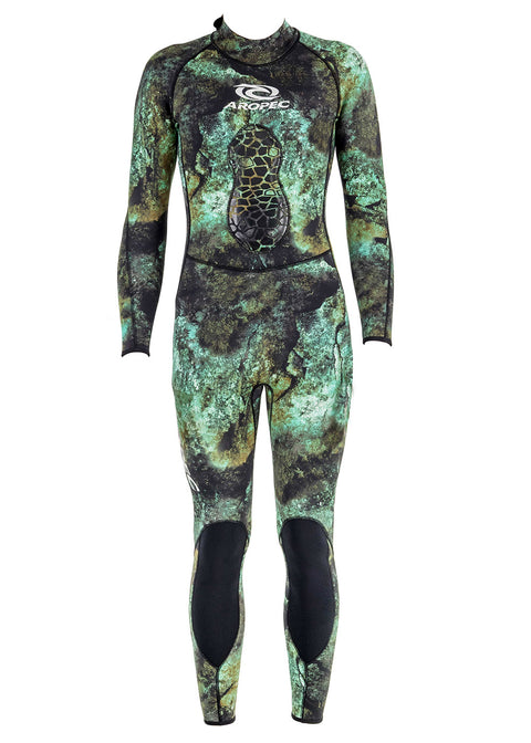Aropec Camo 3mm Spearfishing Steamer Wetsuit