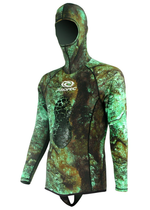 Aropec Lycra Spearfish Hood Rash Guard