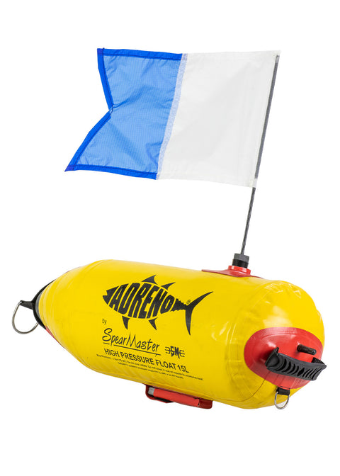 ADRENO FG-15L Inflatable Float with Flag and Weight