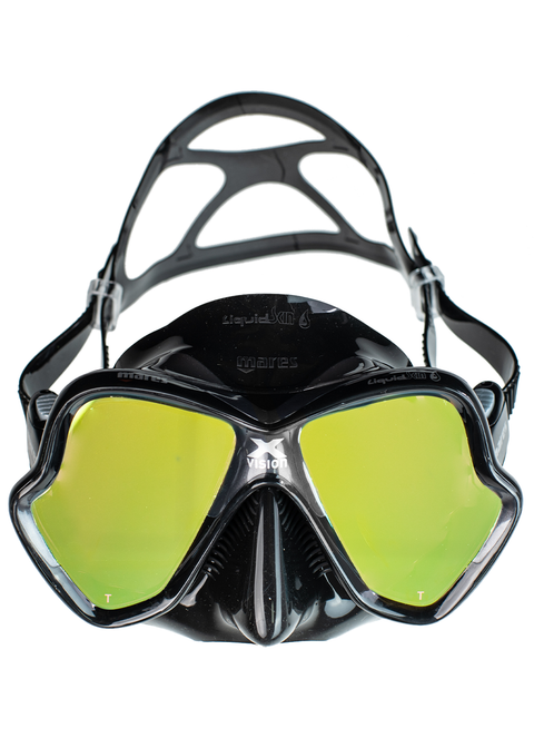 Mares X-Vision Ultra Mirror Tinted Lens Mask Liquidskin