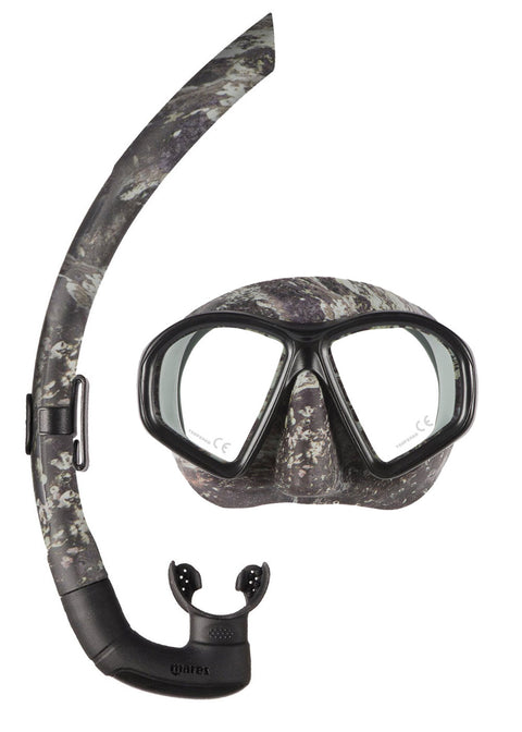Mares Sealhouette Camo spearfishing Mask and Snorkel Combo