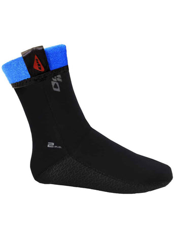 Ocean Hunter 2mm Plush Sock