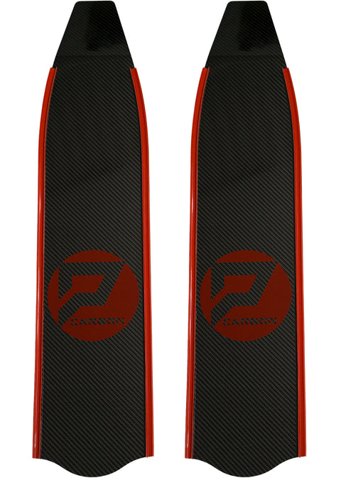 Penetrator T300 Carbon Blades - Red Rails