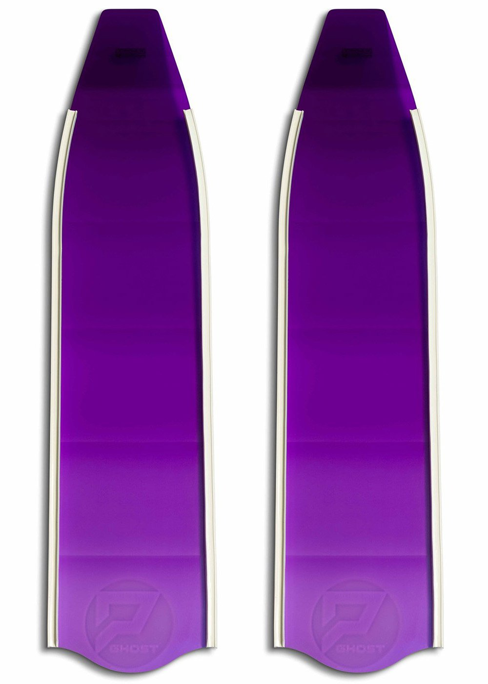 Penetrator Short Composite Blades - Purple