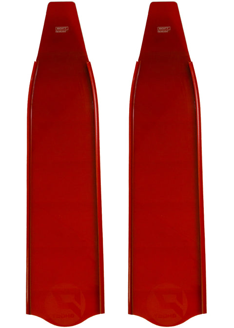 Penetrator Composite Ghost Blades - Red