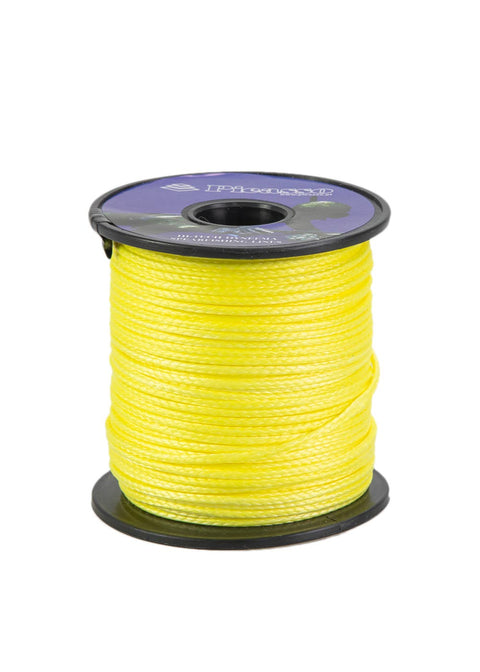 Picasso 50mtr Soft Dyneema Reel Line - Yellow (390kg)