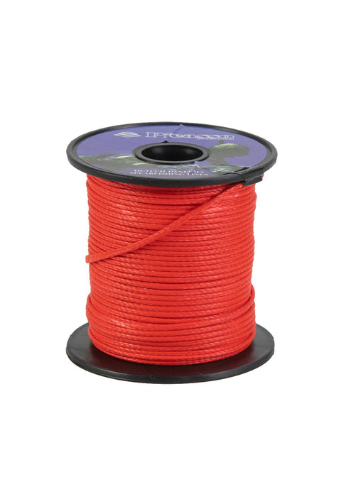 Picasso 50mtr Soft Dyneema Reel Line - Red (300kg)