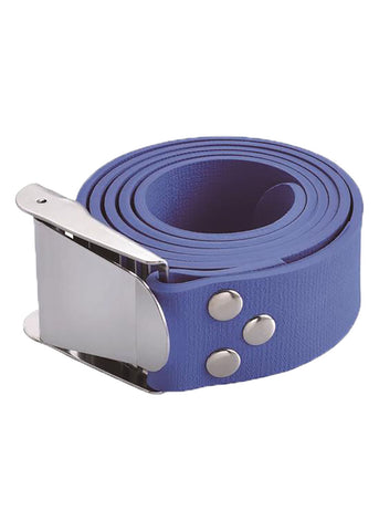 Problue Quick Release Blue Rubber Weight Belt