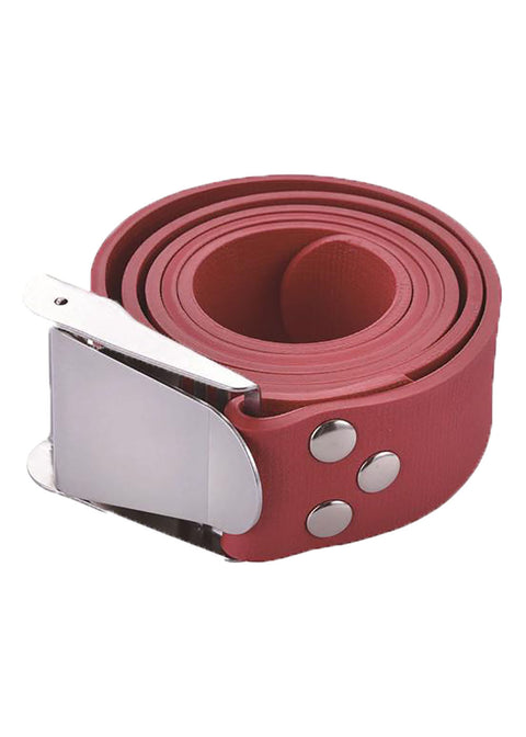Problue Quick Release Red Rubber Weight Belt