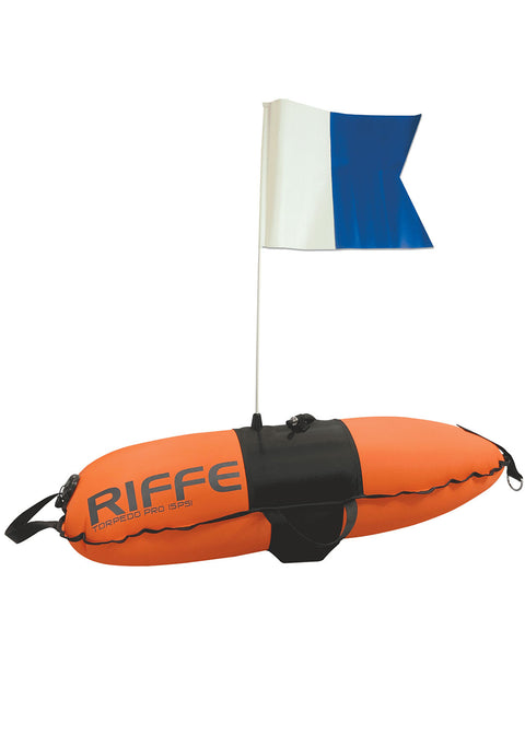 Riffe Torpedo Pro Dive Float w/Flag Features