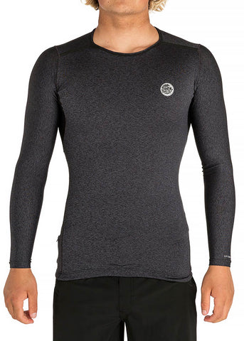 Rip Curl Mens Tech Bomb Long Sleeve Rash Guard