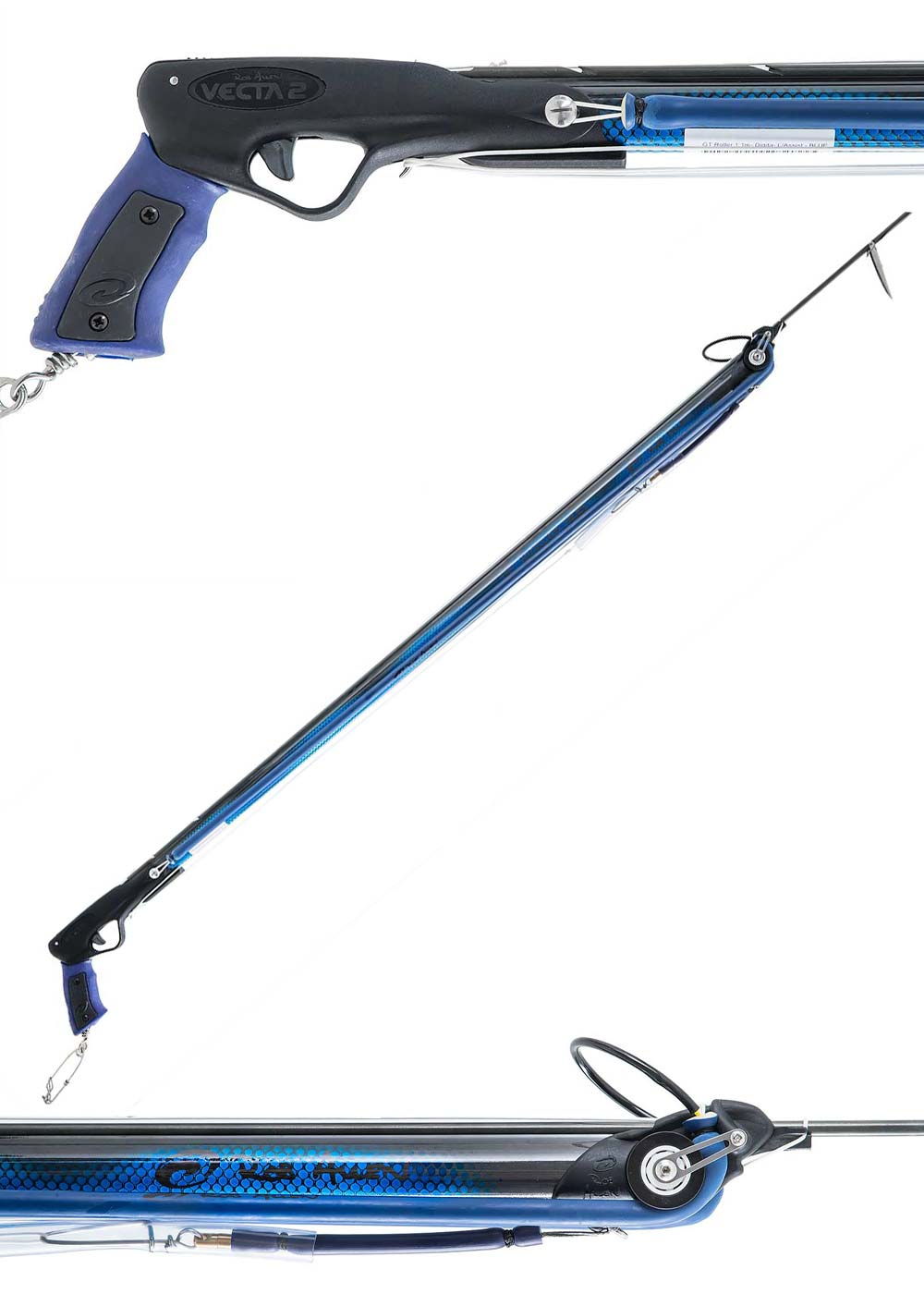 Rob Allen GT Carbon Roller Speargun - Blue
