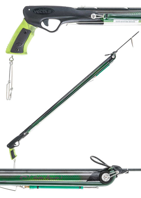 Rob Allen GT Carbon Roller Speargun - Green