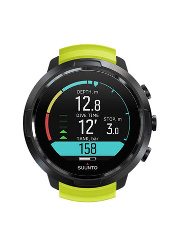 Suunto D5 Black / Lime with USB Cable