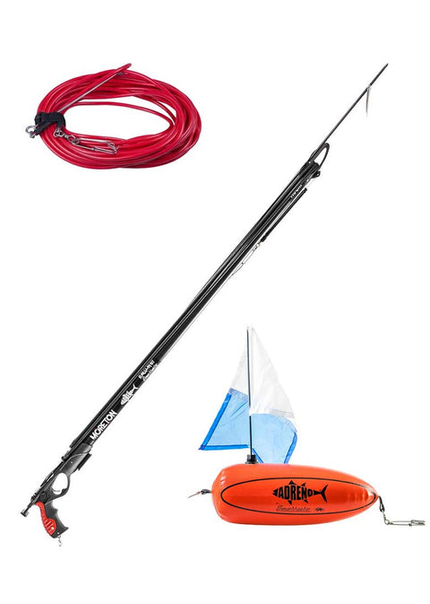 Adreno Moreton Speargun w Adreno Hard Float and 15m Rig Line Package