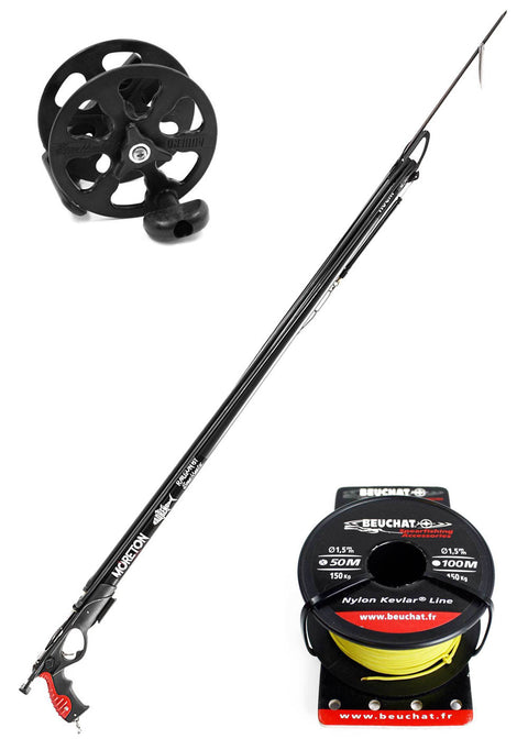 Adreno Moreton Speargun w Spearmaster Reel & Line Package