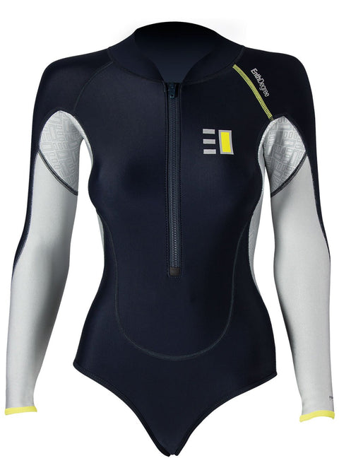 Enth Degree Womens Assana L/S Thermal Springsuit