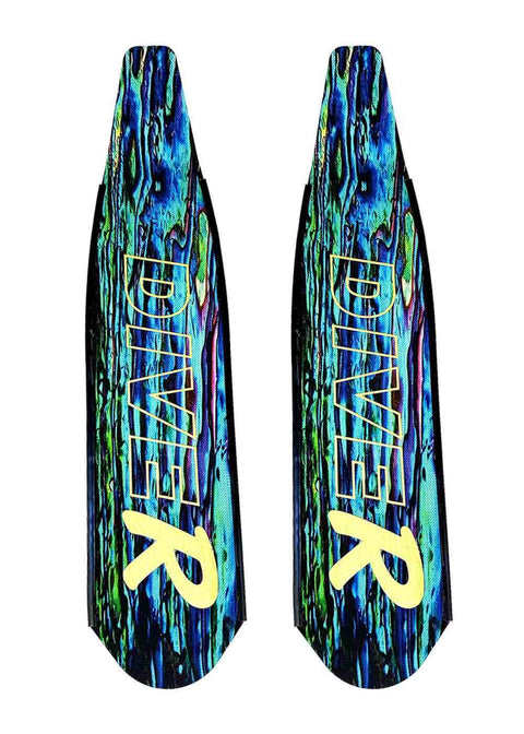Spearfishing Blades Carbon Paua