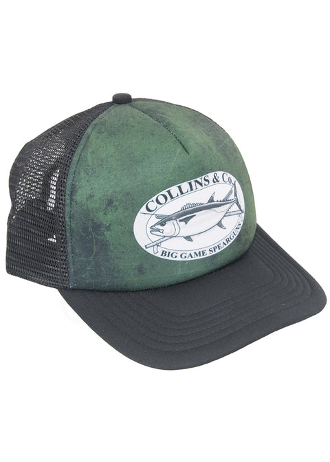 Collins & Co Snap Back Mesh Cap