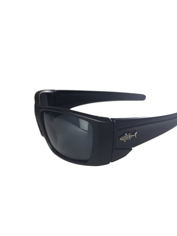 Adreno CRUSHER Polarised Floating Sunglasses - Black