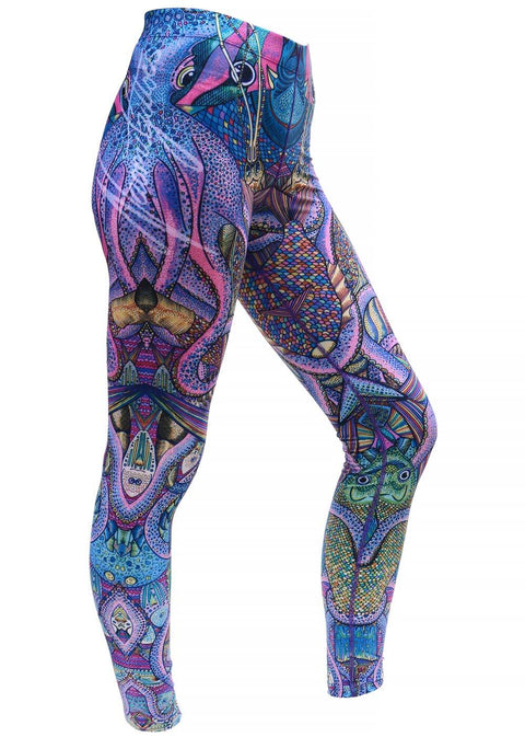 Naomi Gittoes Octopus Garden Eco Leggings
