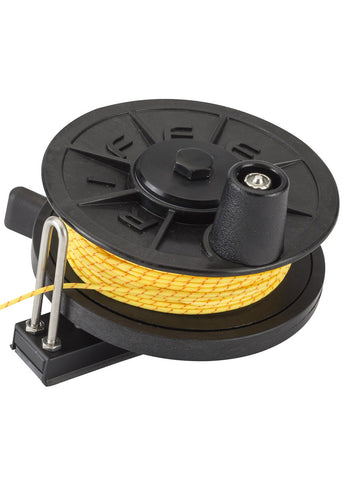Riffe Low-Pro Horizontal Reel FLAT with line