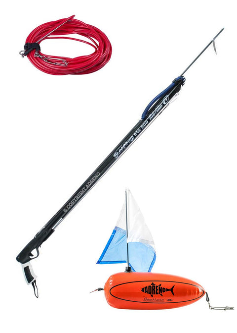 Rob Allen 'Scorpia' Speargun w Adreno Hard Float and 15m Rig Line Package