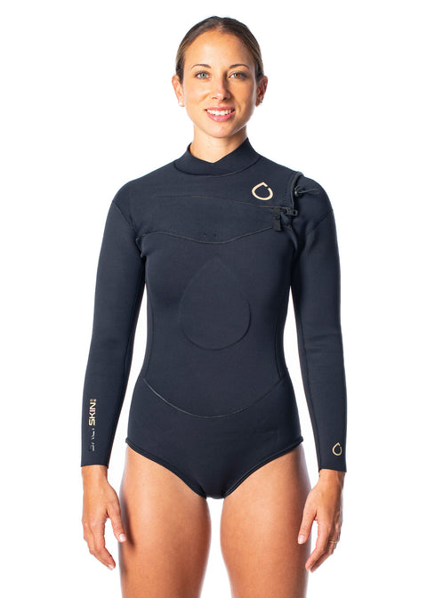 SALTSKIN Womens 2.0mm Long Sleeve Spring Suit Wetsuit