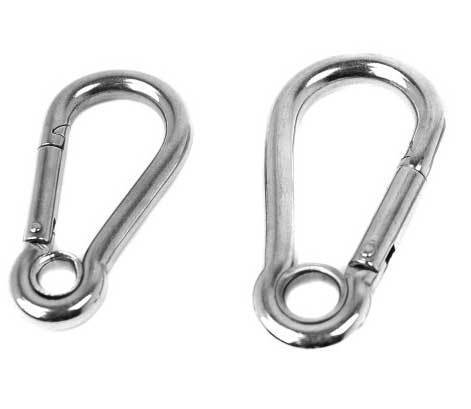 Problue Stainless Steel Carabiner with Eye