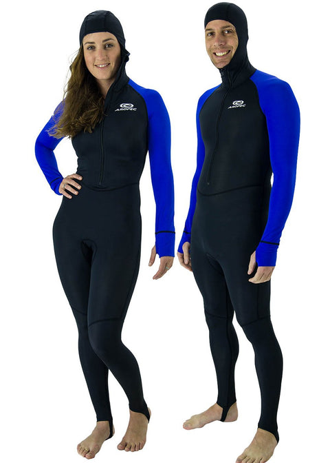 Aropec Unisex Hooded Lycra Suit