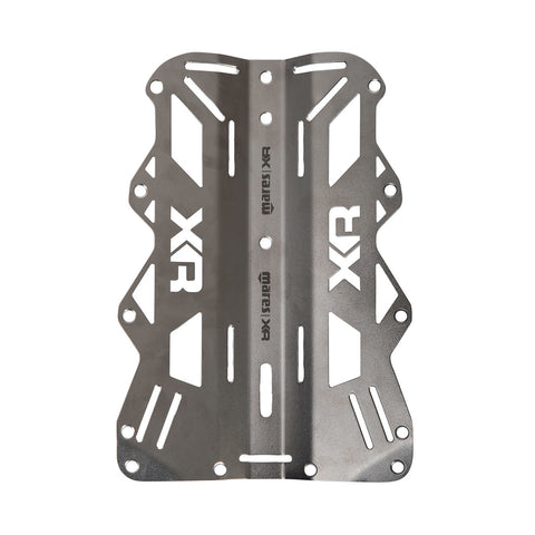 Mares XR Backplate in Stainless Steel - 3mm