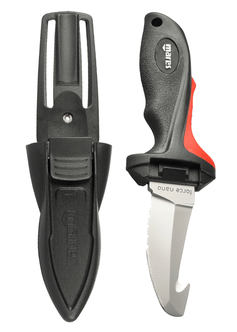 Mares Pure Instinct Force Nano PLUS BCD Knife