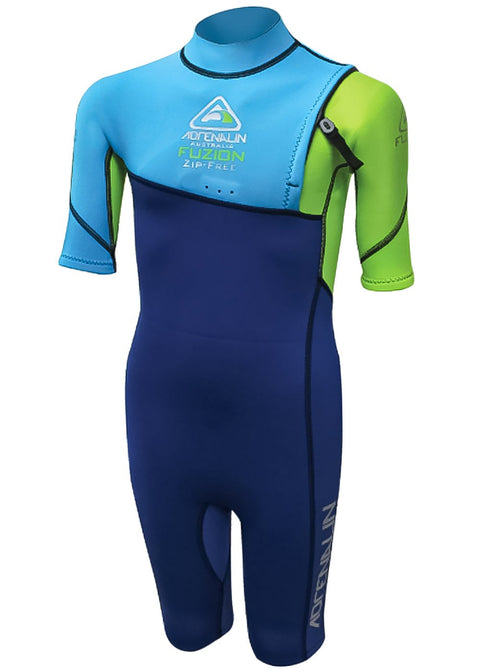 Adrenalin Kids Fuzion 2mm Zipperless Spring Suit Wetsuit