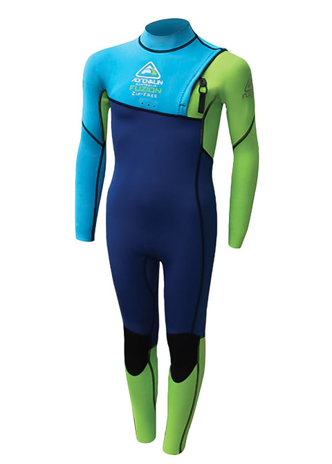 Adrenalin Kids Fuzion 2mm Zipperless Steamer Wetsuit