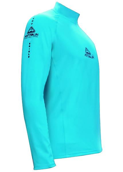 Adrenalin 2P Thermal Long Sleeve Rash Guard - Aqua
