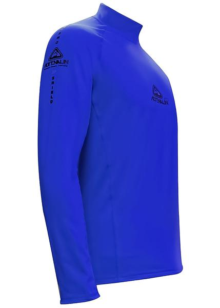 Adrenalin 2P Thermal Long Sleeve Rash Guard - Blue