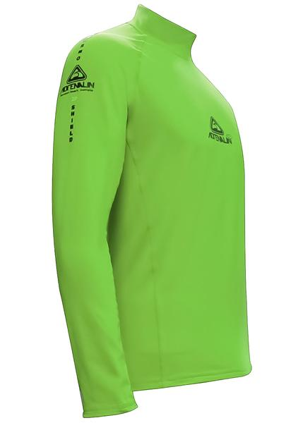Adrenalin 2P Thermal Long Sleeve Rash Guard - Lime Green