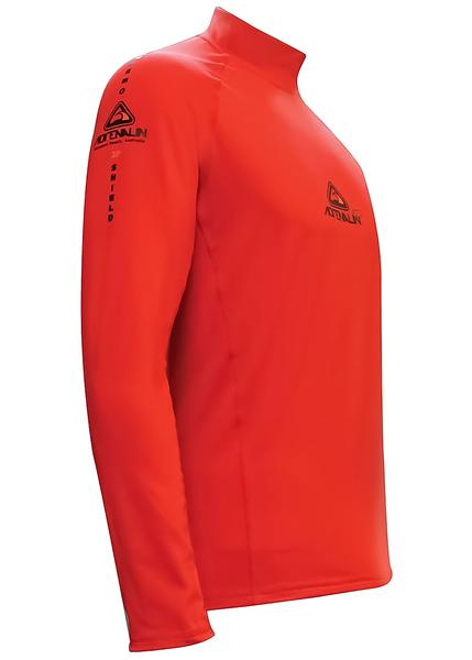 Adrenalin 2P Thermal Long Sleeve Rash Guard - Red
