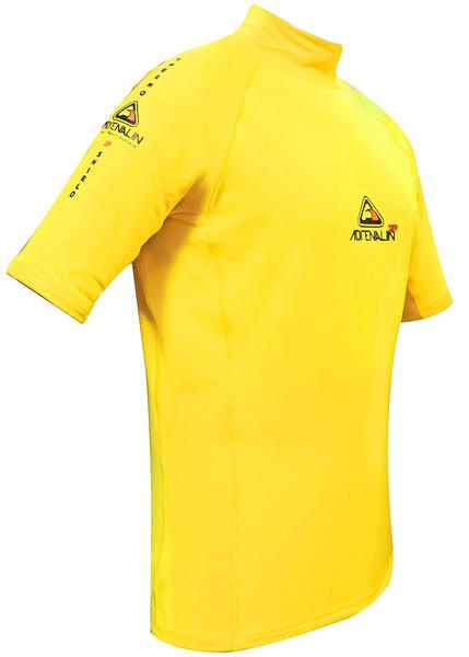 Adrenalin 2P Thermal Shield Short Sleeve Thermal Rash Guard - Yellow