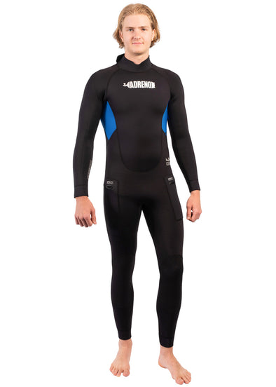 Adreno Mens Nudibranch 5mm Steamer Wetsuit