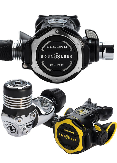 Aqua Lung Leg3nd ELITE Regulator - Yoke and Octo Leg3nd Set