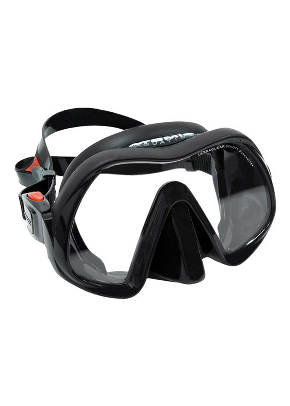Atomic Venom Frameless Mask - Black