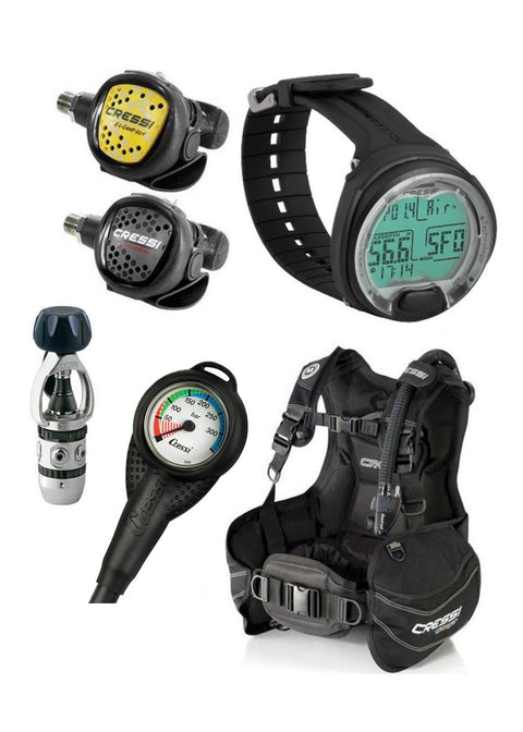 Cressi Start BCD Scuba Package
