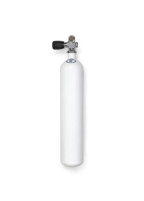 Faber 3 Litre Steel Scuba Diving Cylinder with Din/K Valve - 232bar