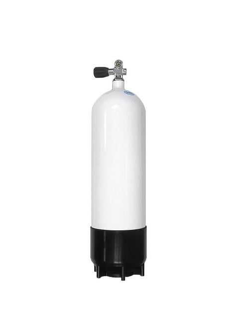 Faber 5 Litre Steel Scuba Diving Cylinder with Din/K Valve - 232bar